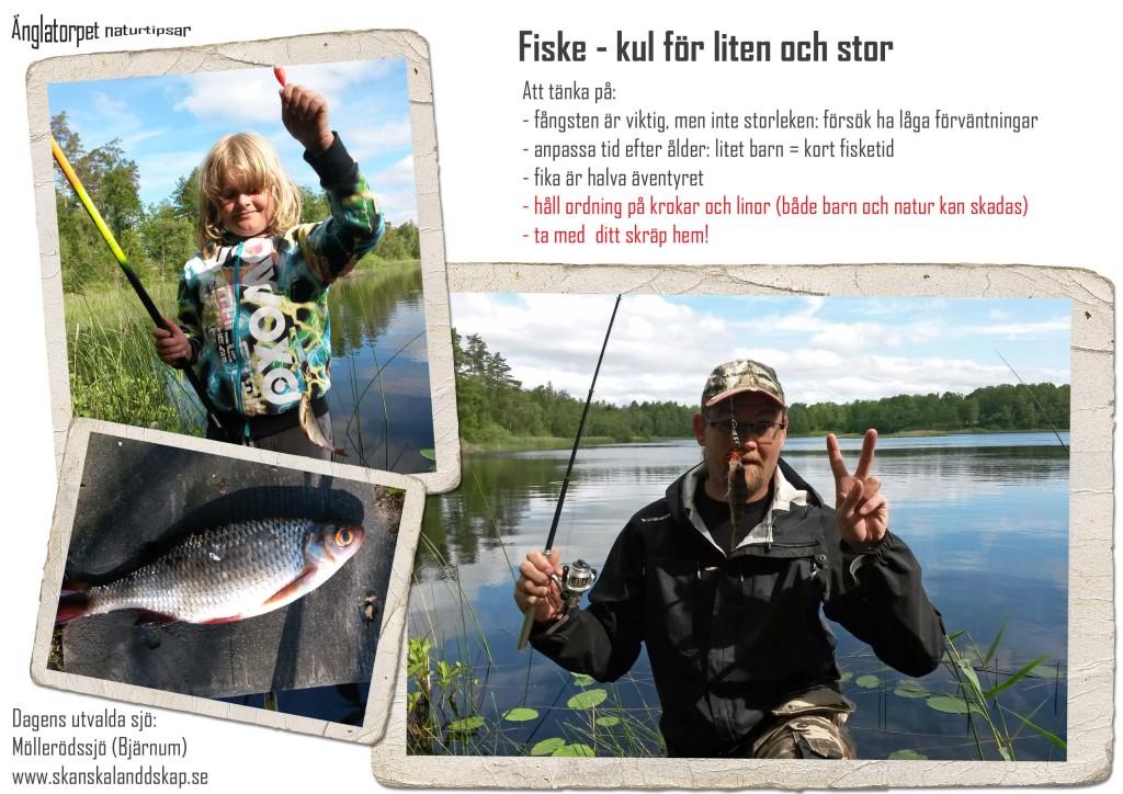 Fiske för liten och stor