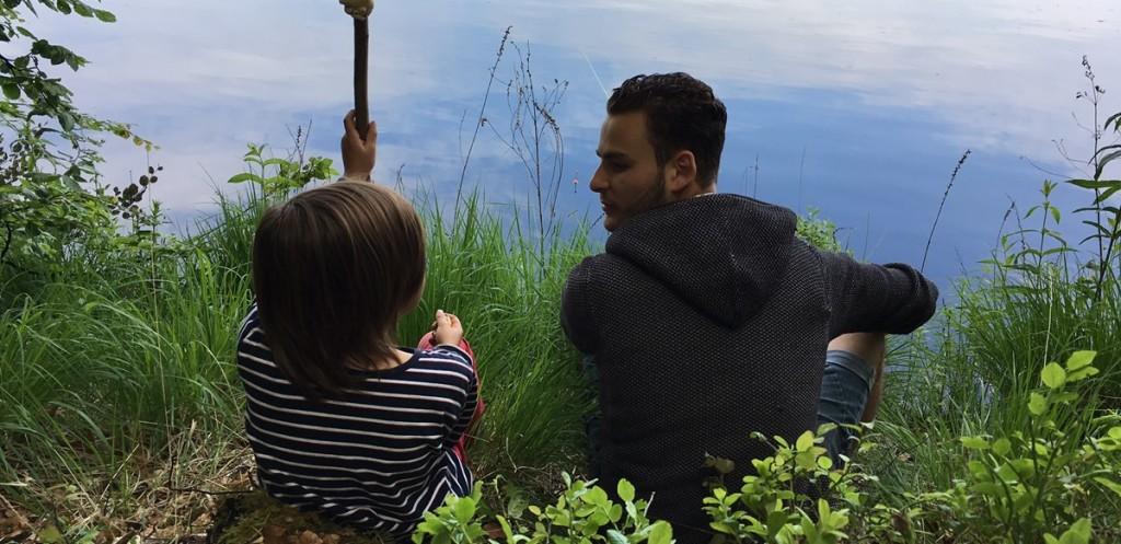 Mohammad Nour Tadmori Viktig vikarie under sommaren! Man kan säga att han är Cias högra hand och vänstra ben efter knäoperationen. Du hittar honom vid lägerelden eller allra helst nära vattnet, gärna utrustad med spö och mask.
